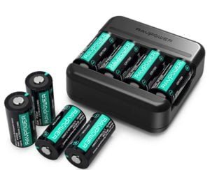 CR123A Rechargeable Batteries