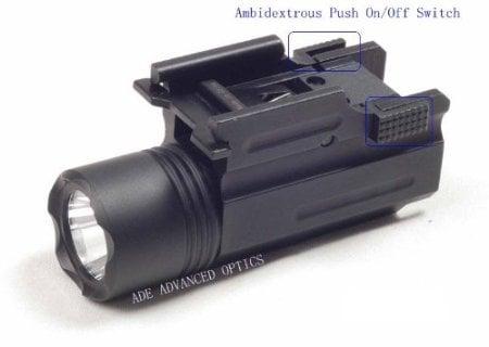 Ade Advanced Optics Flashlight for Compact Pistols