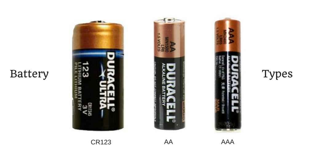 flashlight by battery type