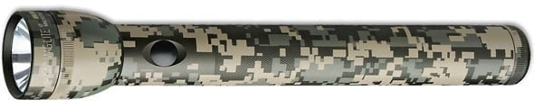 Best Budget Flashlight - MAGLITE ST3DMR6 3-D Cell LED Flashlight, Universal Camo