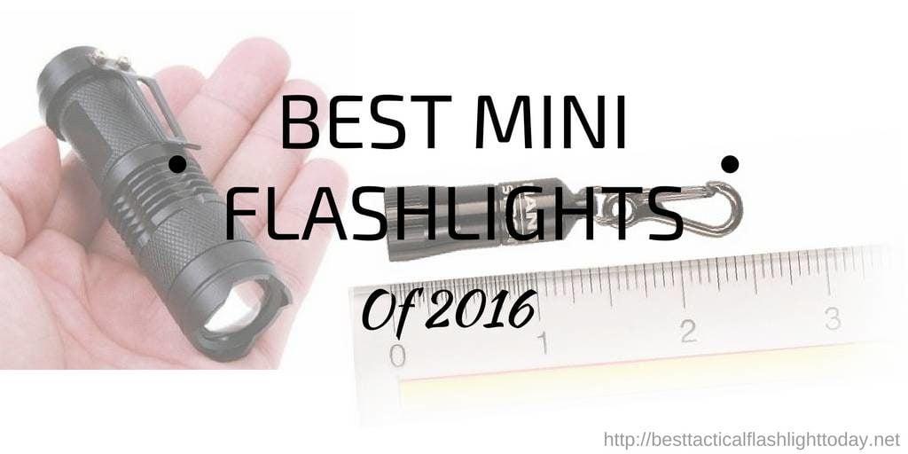 best mini flashlights - 2016