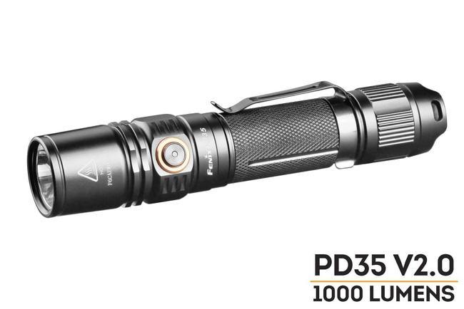 fenix pd35 version 2.0 best edc flashlight 2018