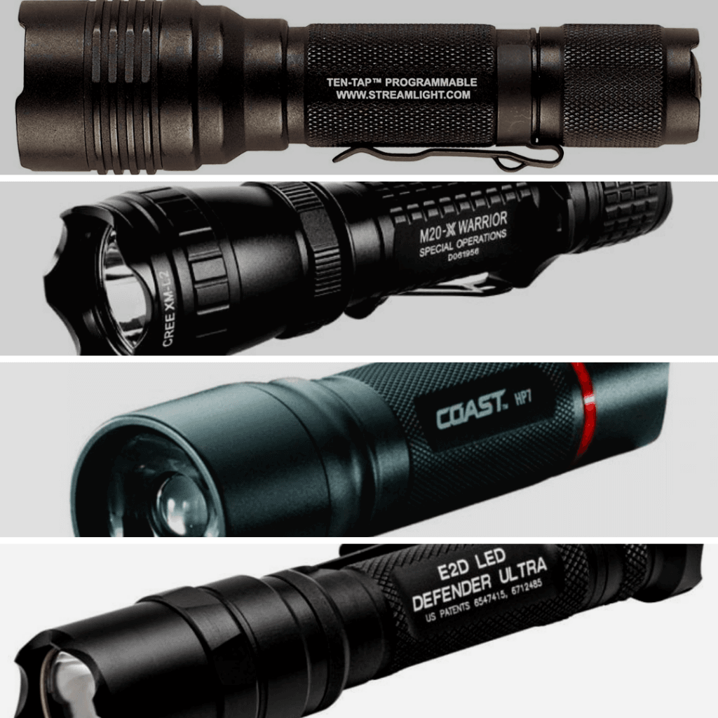top 10 tactical flashlights and comparison