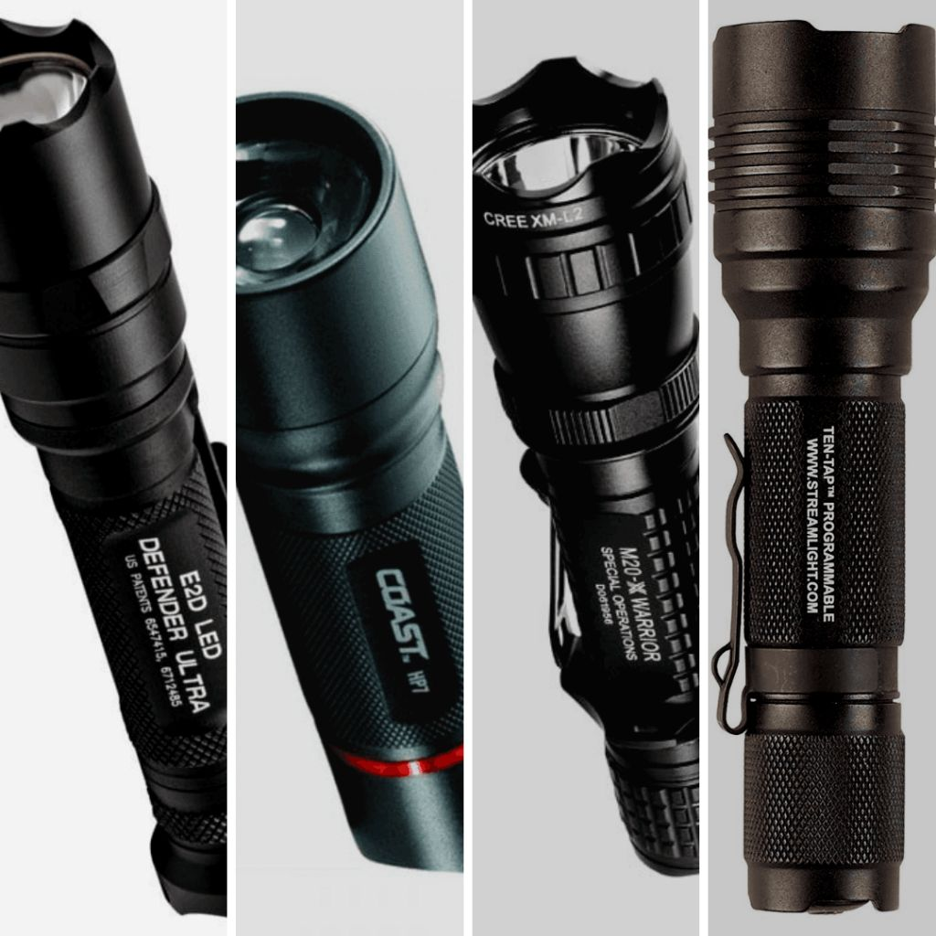 best tactical flashlights with comparison chart