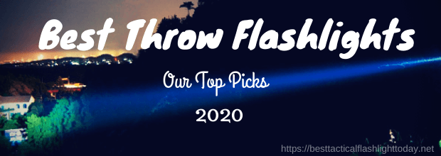 best throw flashlights in 2020