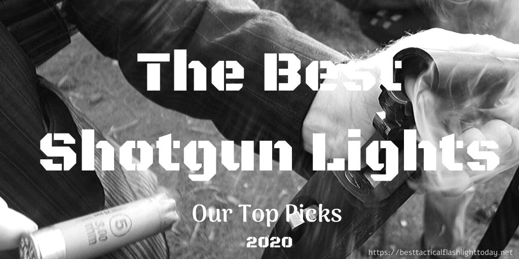 best shotgun lights