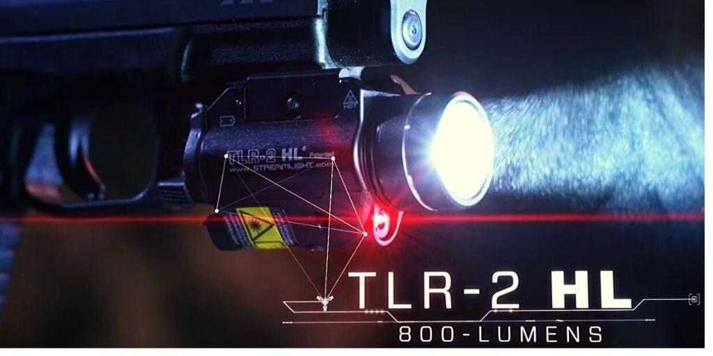 Streamlight 69265 TLR-2 full size shotgun light